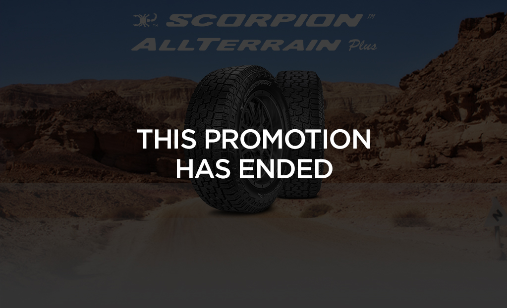 Rebate - Scorpion All Terrain Plus