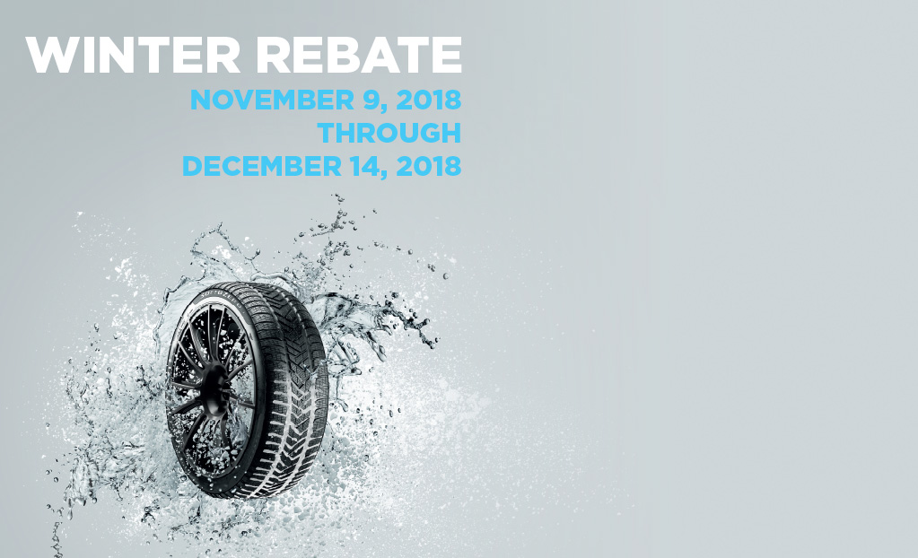 WINTER REBATE - November 9, 2018 through December 14, 2018