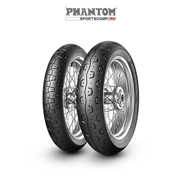 PHANTOM SPORTSCOMP RS motorbike tyre for track