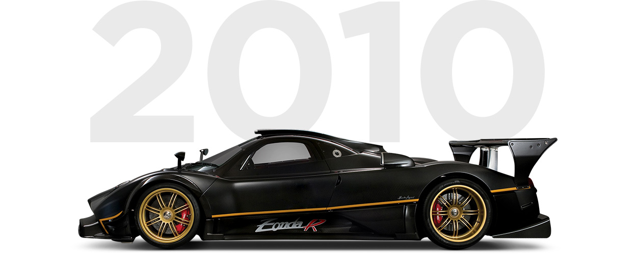 Pirelli & Pagani through history 2010