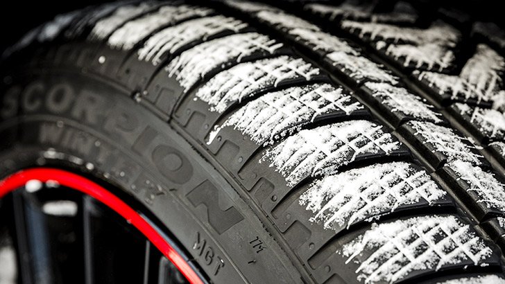 winter tips check the tread