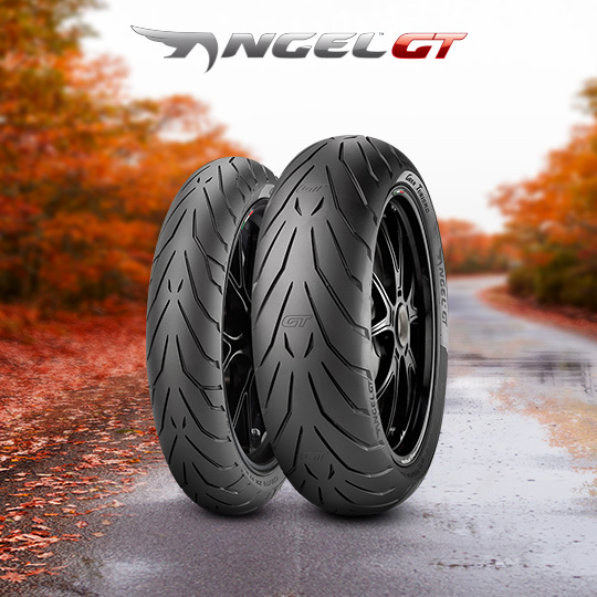 ANGEL GT tyre for BMW R 850RT & R 1100RT Behörde  motorbike