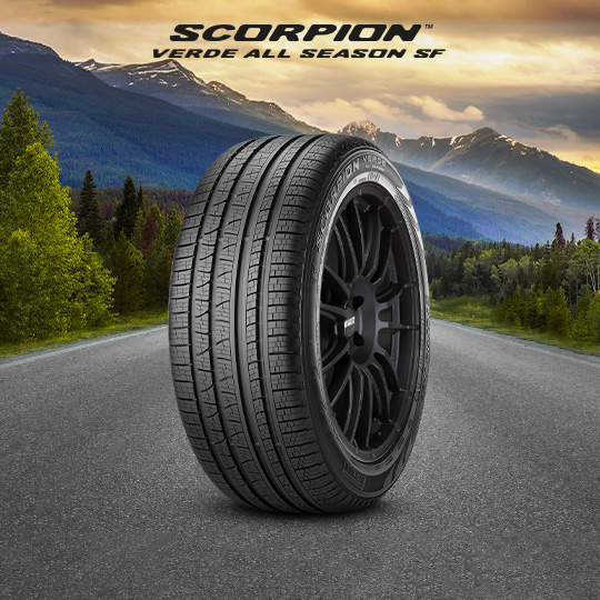 SCORPION VERDE ALL SEASON SF car tyre