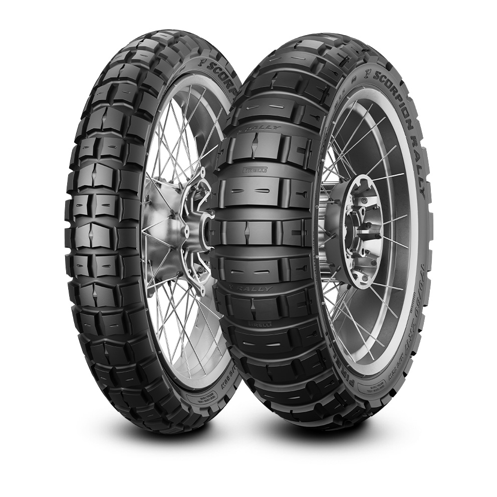 Pirelli Scorpion™ Rally motorbike tyre