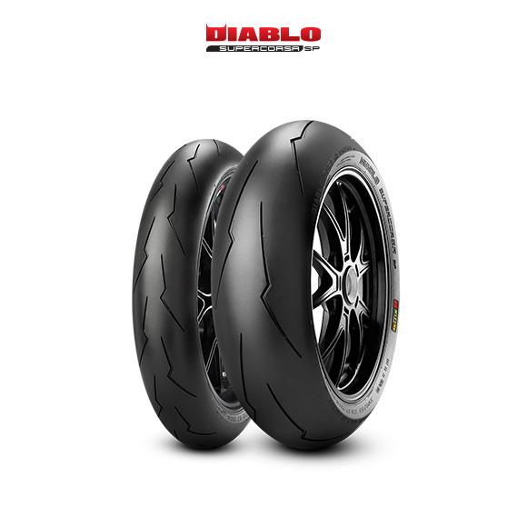 Neumáticos DIABLO SUPERCORSA V2 707 para moto HONDA CBR 600 F; Sport PC 35 (> 2001)