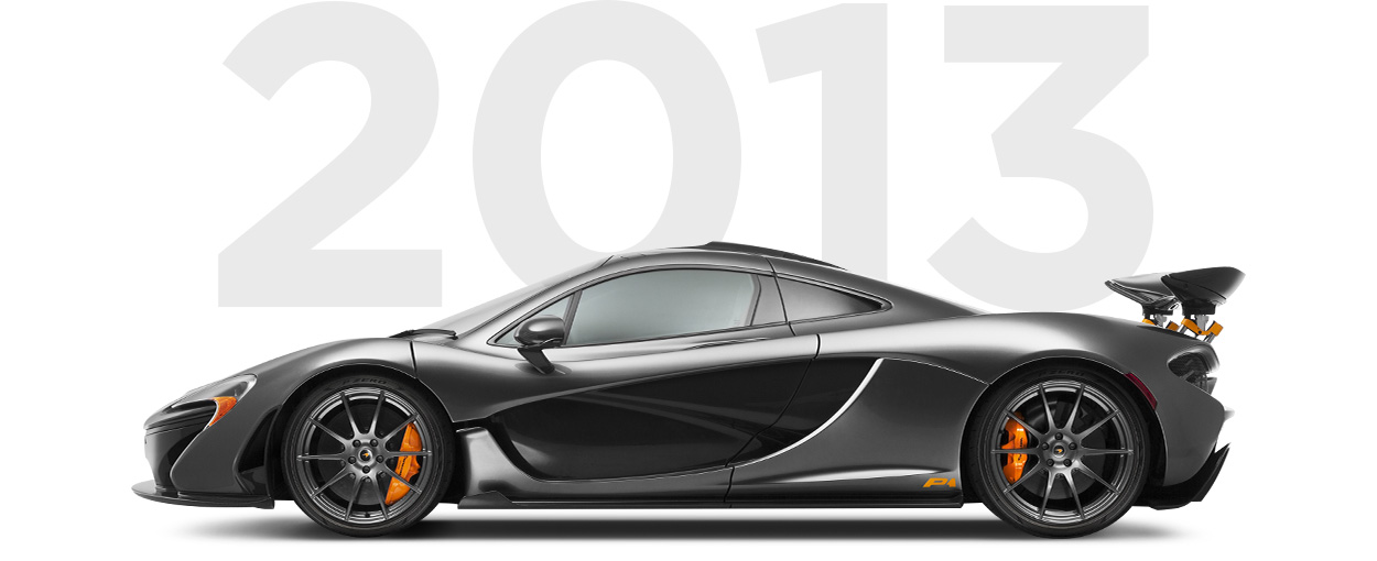 Pirelli & McLaren through history 2013