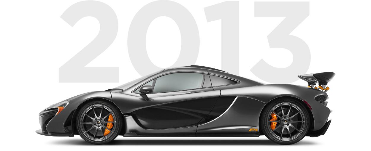 Pirelli & McLaren through history 2013