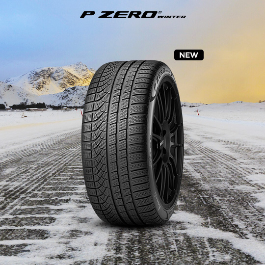 PZERO WINTER tyre for AUDI Allroad
