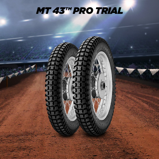 MT 43 PRO TRIAL Motorband voor off road