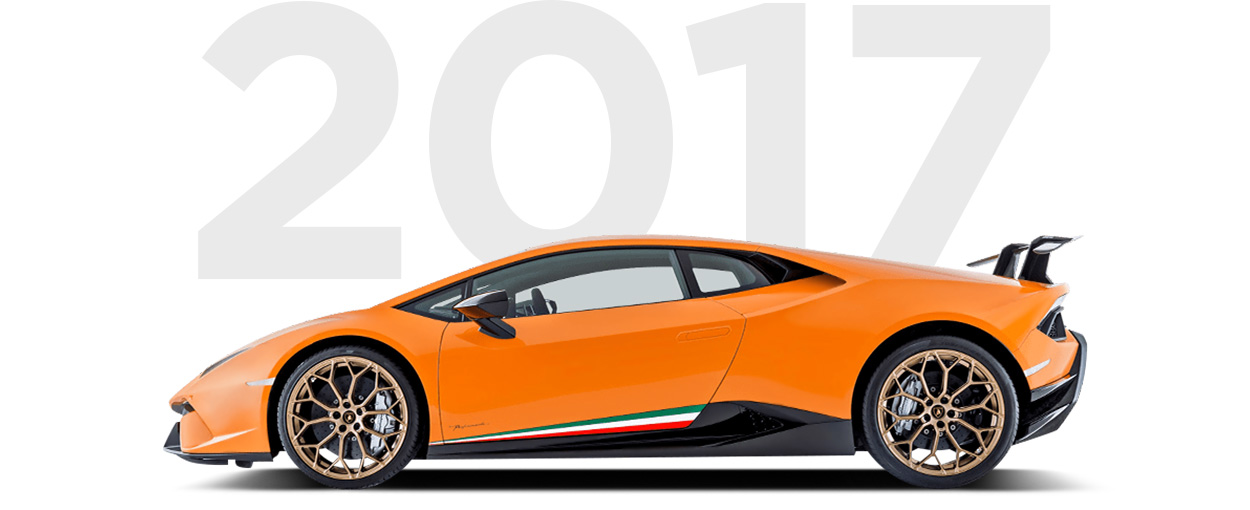 Pirelli & Lamborghini through history 2017