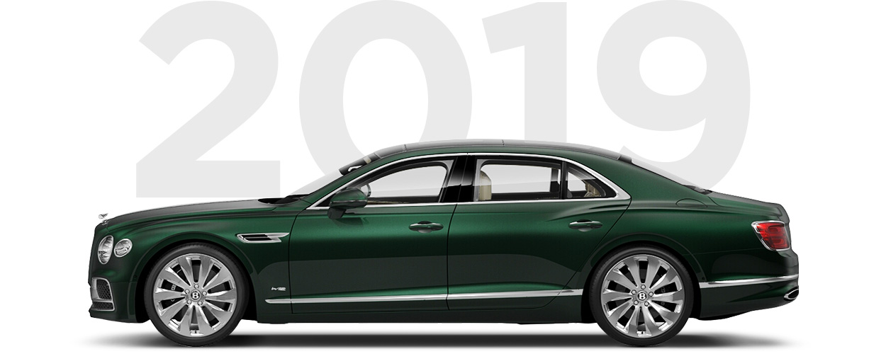 Pirelli & Bentley through history 2019