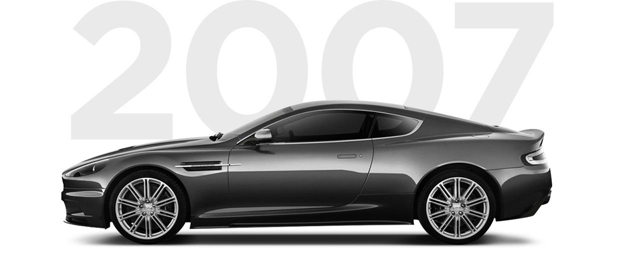 Pirelli & Aston Martin through history 2007