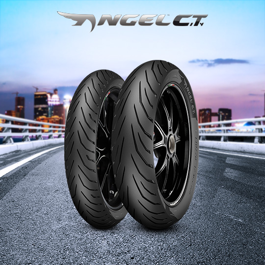 ANGEL CITY tyre for GILERA Coguar 125 M17 motorbike