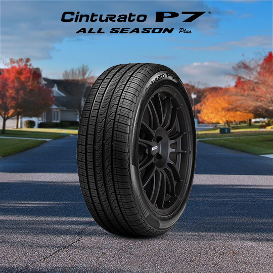CINTURATO P7 ALL SEASON PLUS tire for Ford Taurus