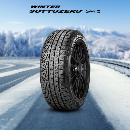 WINTER SOTTOZERO SERIE II tyre for MCLAREN 720S