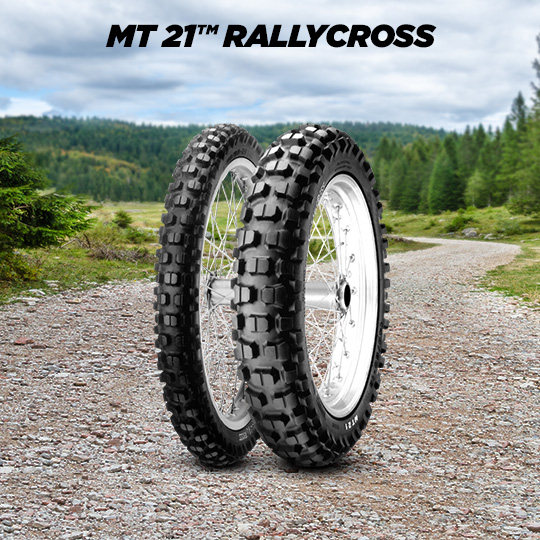 Pneu MT 21 RALLYCROSS pour moto KTM LC4 620 Supercompetition  (> 2000)