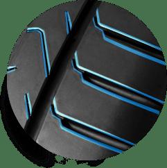 Cinturato P7 - Profilo dell'incavo smussato